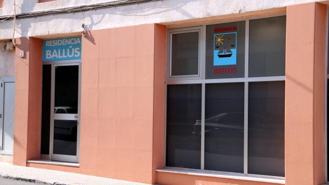 La residencia Ballús de Valls, donde hay diez casos confirmados de coronavirus.