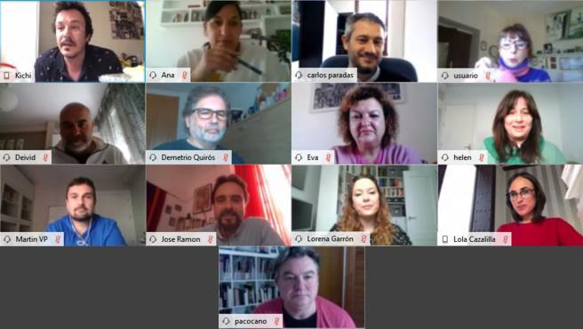 Reunión del equipo de Gobierno del Ayuntamiento de Cádiz
