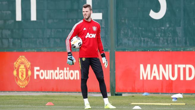 UEFA Europa League - Manchester United FC training