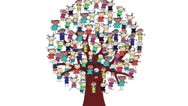 Recrear el árbol genealógico es una divertida actividad para hacer en familia.
