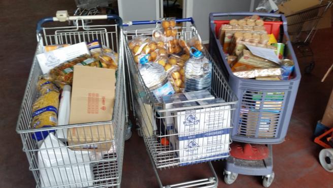 Comida para familias necesitadas