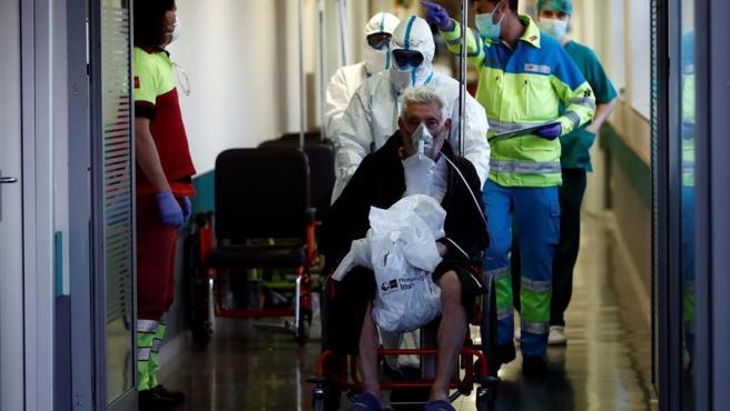 Urgencias en el hospital Infanta Leonor, en Madrid.