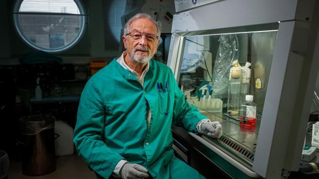 Imagen de archivo del virólogo Luis Enjuanes.