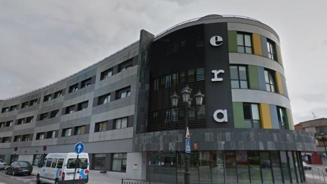 Residencia de ancianos de la red pública de Asturias, ERA, en Oviedo.