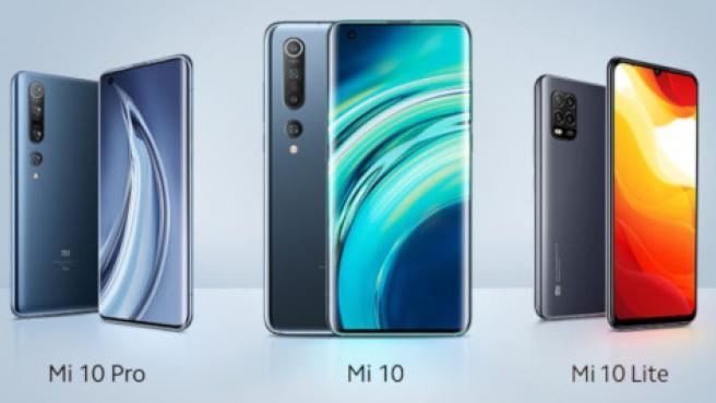 El Mi 10 Pro, el Mi 10 y el Mi 10 Lite 5G