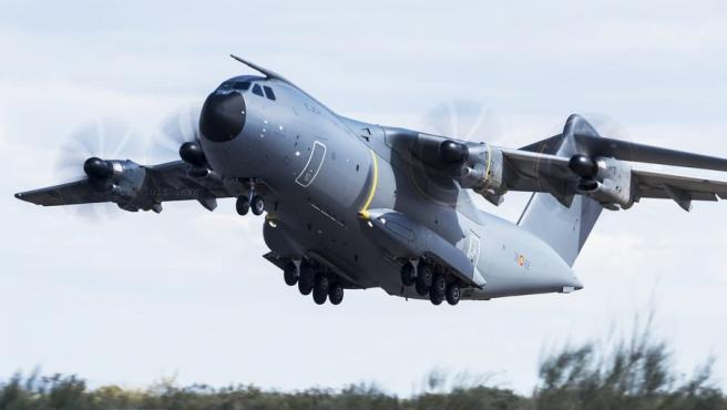 Imagen de archivo del avión del Ejército del Aire. Avión del Ejército del Aire 28/3/2020
