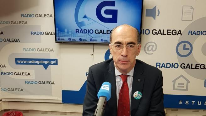 Conselleiro de Sanidade, Jesús Vázquez Almuiña