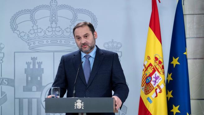 El ministro de Transportes, José Luis Ábalos, en una imagen de archivo.