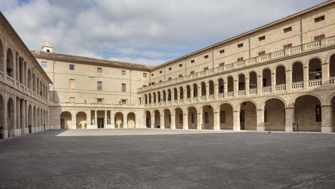 La Misericòrdia, sede del Departamento de Cultura, Patrimonio y Política Lingüística.