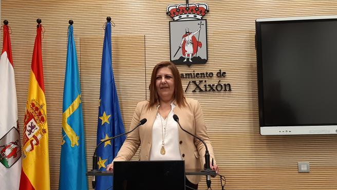Marina Pineda, portavoz de la Junta de Gobierno local