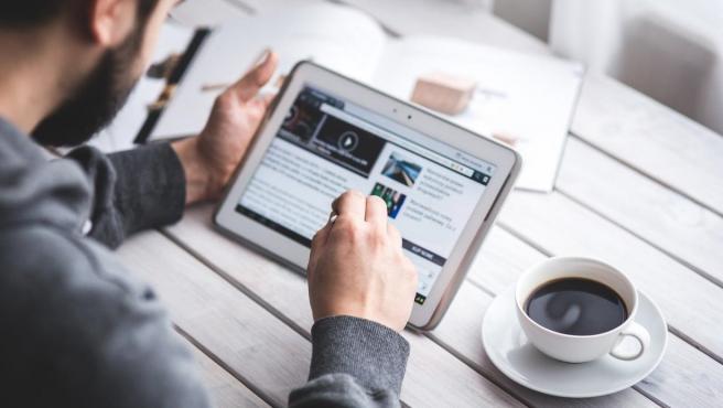 Tablet, educación online.