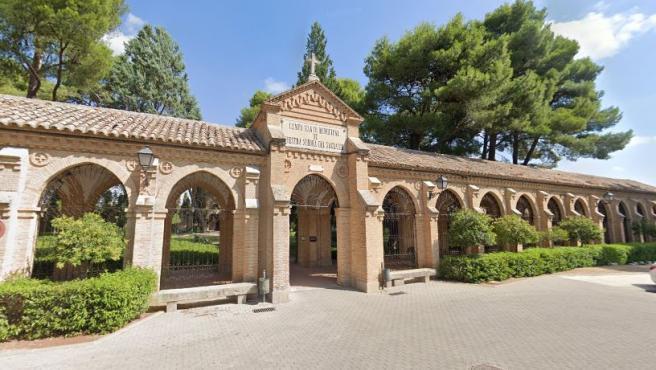 Imagen del cementerio municipal de Toledo.