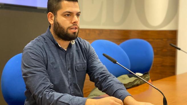 Concejal de Somos Oviedo en el Ayuntamiento de Oviedo, Rubén Rosón.