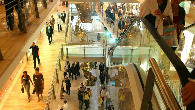 Imagen de archivo de un centro comercial en Francia.