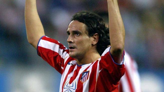 José Antonio García Calvo, en su etapa en el Atlético de Madrid.