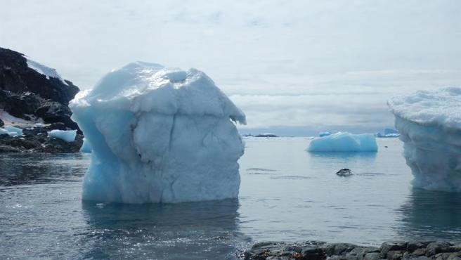 Paisaje de la Antártida chilena.
