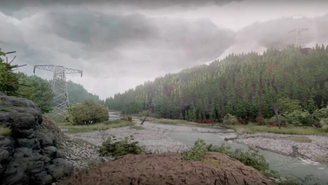 El asombroso y realista bosque virtual creado por un jugador en el ...