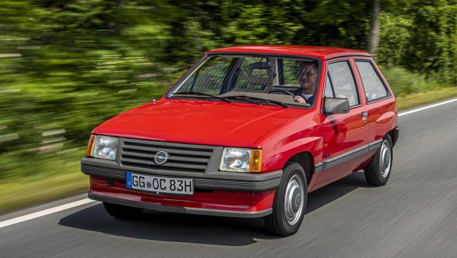 Opel Corsa de primera generación. 1982