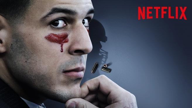 Cartel de 'La mente de un asesino: Aaron Hernández'
