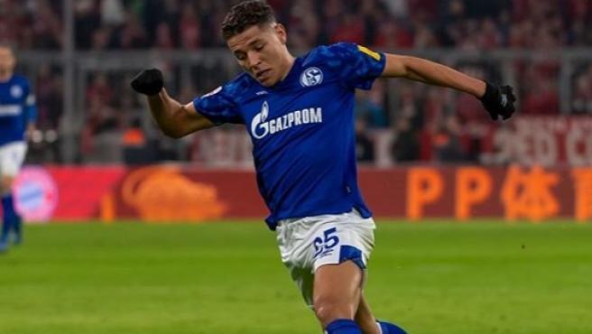 Amine Harit, jugador del Schalke.
