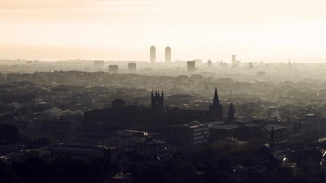 Ciudad de Barcelona. Efectos de la contaminación en la salud.