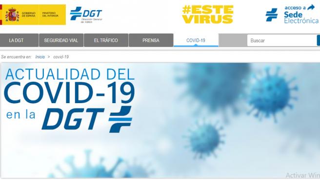 En la página web de la DGT se puede encontrar información actualizada para resolver dudas