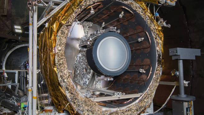 NEXT-C, el propulsor iónico que usará para impactar contra un asteroide.