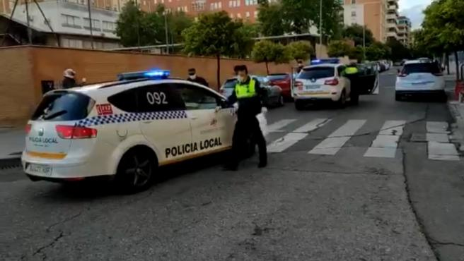 Actuación de la Policía Local.