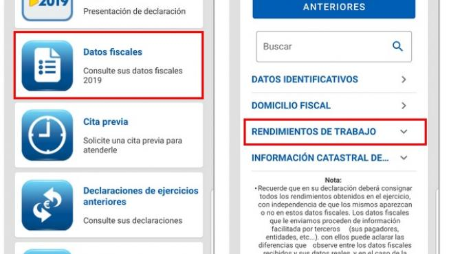 App de la Agencia Tributaria