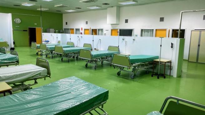 Camas hospitalarias dentro del plan de contingencia de la Junta de Extremadura ante el coronavirus