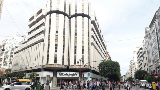 El Corte Inglés de calle Colón