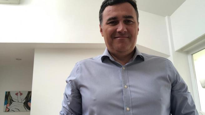 El parlamentario andaluz y portavoz de Ciudadanos en Málaga, Carlos Hernández White, en una imagen de archivo