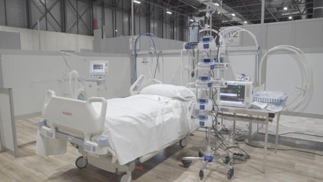 Ifema pone en marcha su UCI para pacientes con coronavirus