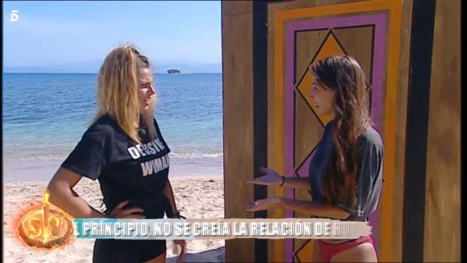 Ivana y Fani, en 'Supervivientes: En tierra de nadie'.