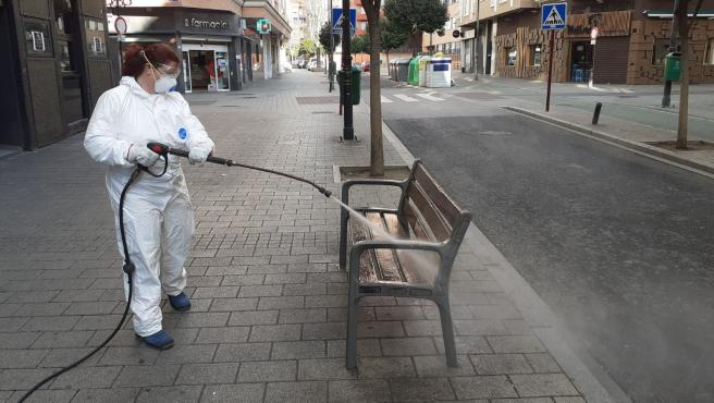 Limpieza viaria en las calles de Albacete