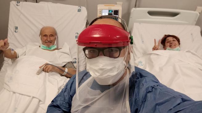 Sergio Viñas Sánchez, enfermero del Hospital del Tajo