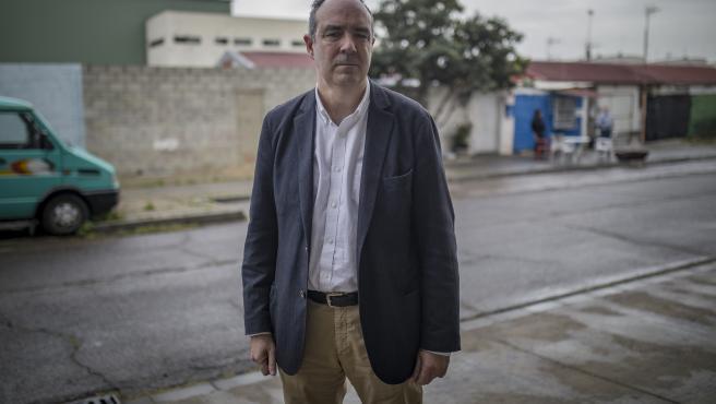 SEVILLA. El comisionado para el Polígono Sur de Sevilla, Jaime Bretón Besnier.