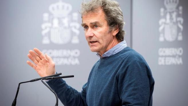 Fernando Simón era hasta que dio positivo el encargado de dar parte diario de las cifras del coronavirus.