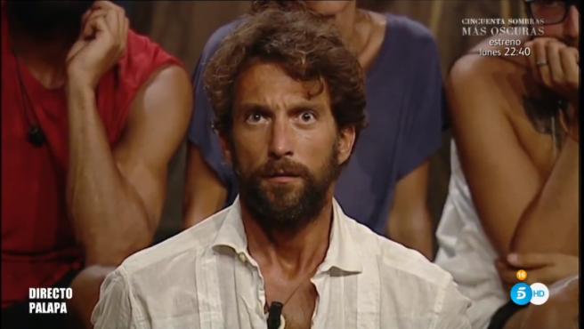 Antonio Pavón, en 'Supervivientes'.