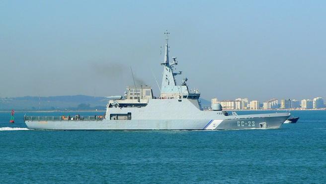 El buque Naiguatá.