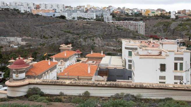 El Centro de Internamiento de Extranjeros (CEI) de Barranco Seco, en Las Palmas de Gran Canaria.