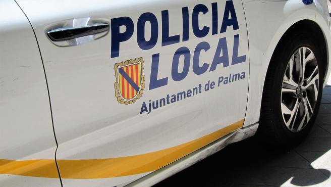 Coche de la Policía Local de Palma.