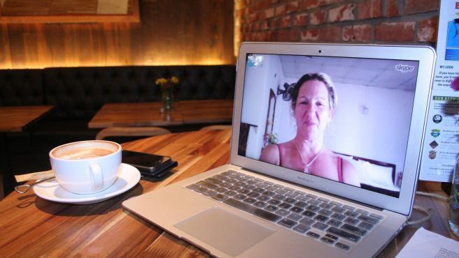 Videoconferencia mantenida por Skype