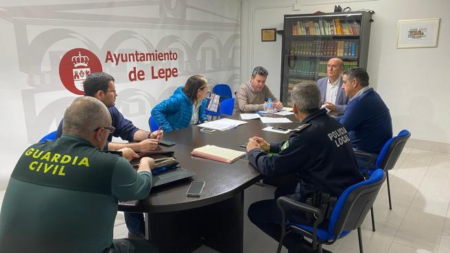 Comité asesor del Plan Municipal de Emergencia de Lepe