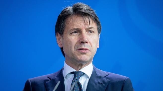 Giuseppe Conte, el primer ministro italiano.