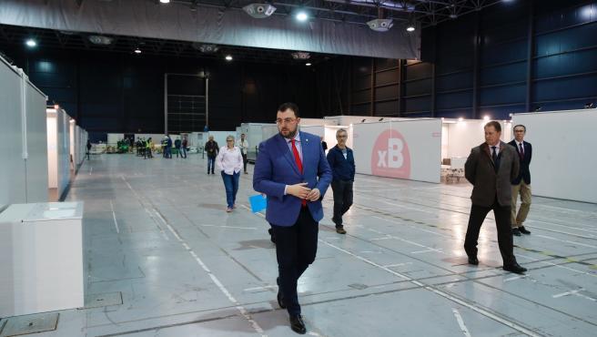 [Grupoasturias] Fotos Presidente Principado Visita Unidad De Hospitalización Recinto Ferial Gijón (1/2)