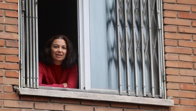 Beatriz, una profesora de yoga que ha sufrido dos ERTE, participará en la huelga.