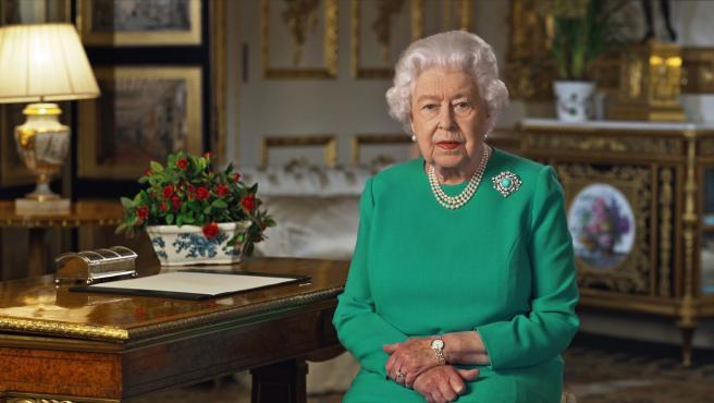 La reina Isabel II se dirige a los británicos con motivo de la crisis del coronavirus.