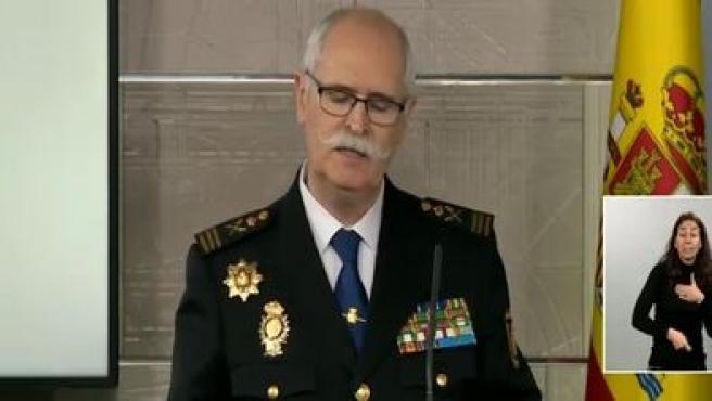 José García Molina en rueda de prensa.