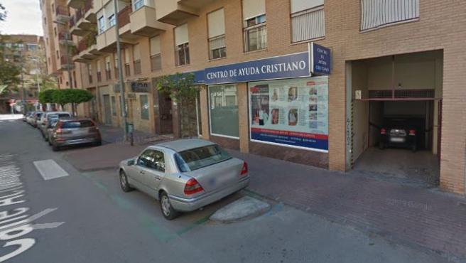 Imagen de la calle Actor José Crespo de Murcia.